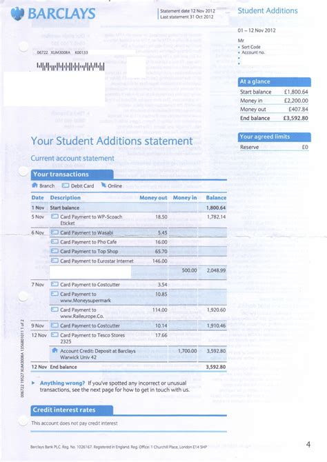 barclays bank statement template barclays will writing service additions plus help me