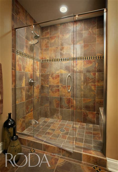bathroom shower stall ideas bathroom designs roda shower enclosures by basco modern shower stalls and kits