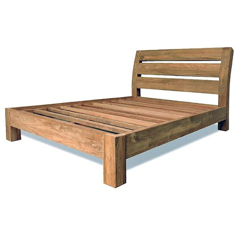 simple bed frame teak beds and bed frames quality furniture manufacture