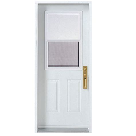Melco Hung Window Exterior Steel Door 30 X 80 Quot Right Hung Exterior Doors