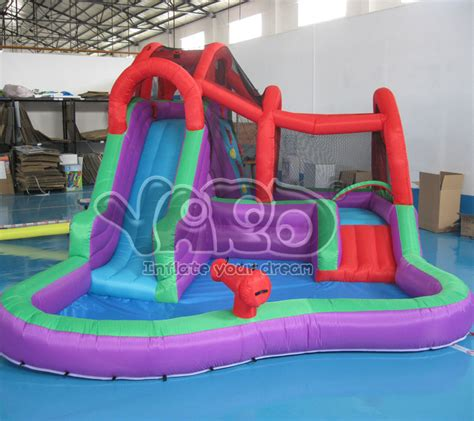 water slide backyard inflatable aliexpress com buy backyard inflatable water park