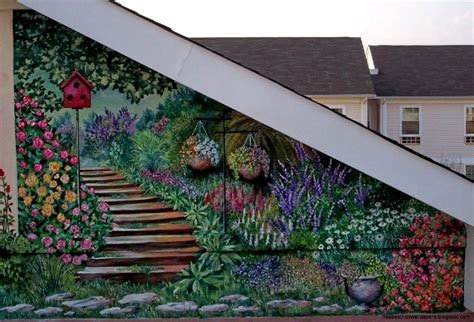 garden wall murals wall murals for outdoor walls wallpaper free best hd