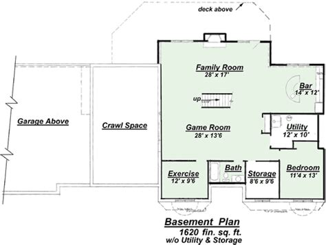 model p 811 finished basement floor plan by