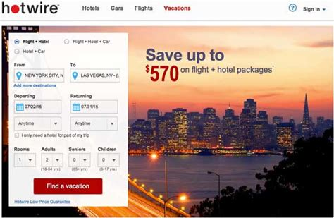 hotwire promo code august 2015