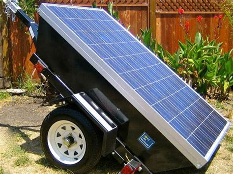 solar powered generator prepare with emergency solar