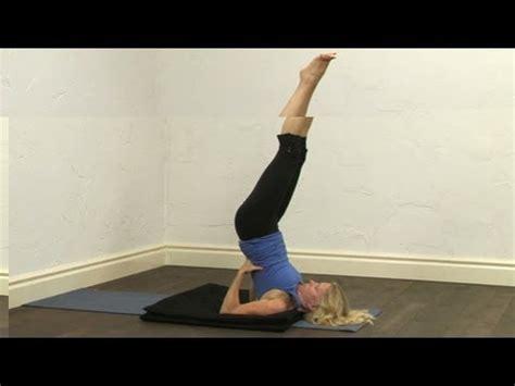 tutorial yoga youtube shoulderstand tutorial yoga youtube