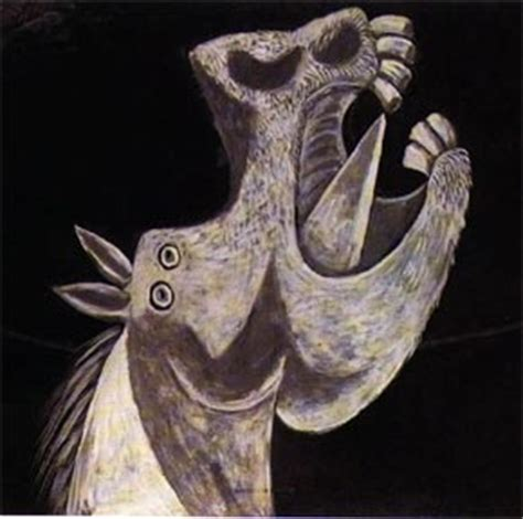 picasso paintings of horses picasso s affair with monochrome and design