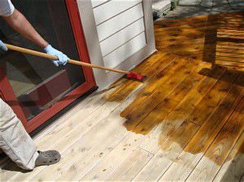 refinish  wood deck   easy steps