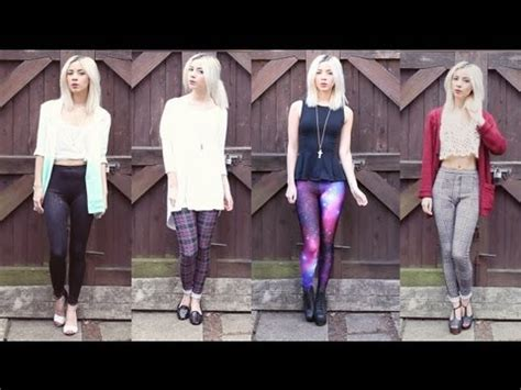 patterned tights youtube how i style patterned leggings youtube