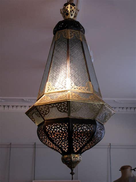 good quality circa ss moroccan hanging light