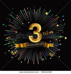 3rd anniversary stock images royalty free images