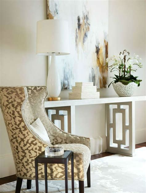 White Armchair Design Ideas 10 Foyer Decorating Ideas With Modern Chairs