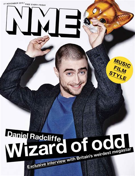 Grungy Potter Daniel Radcliff On The Cover Of Details Magazine by Daniel Radcliffe Reveals How He Played With His Wand After