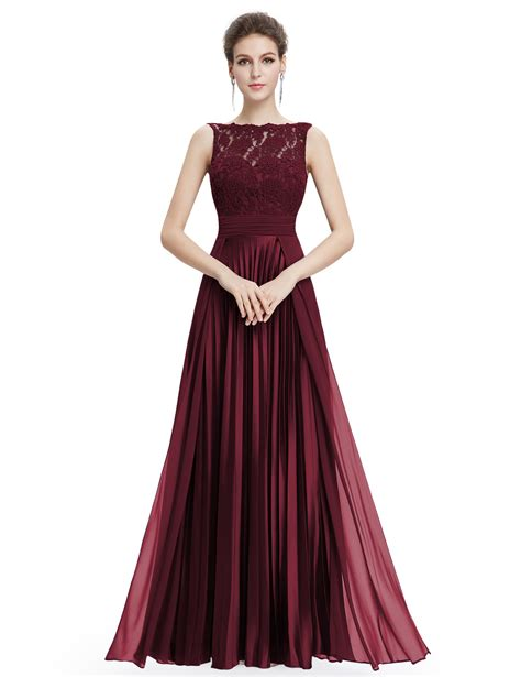 9 Pretty Dresses With Lace by Womens Lace Bridesmaid Dresses Formal Evening Prom