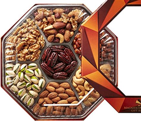 holiday gourmet food nuts gift basket 7 different nuts five star gift baskets s day gourmet food nuts gift basket 7 different delicious nuts magnificent