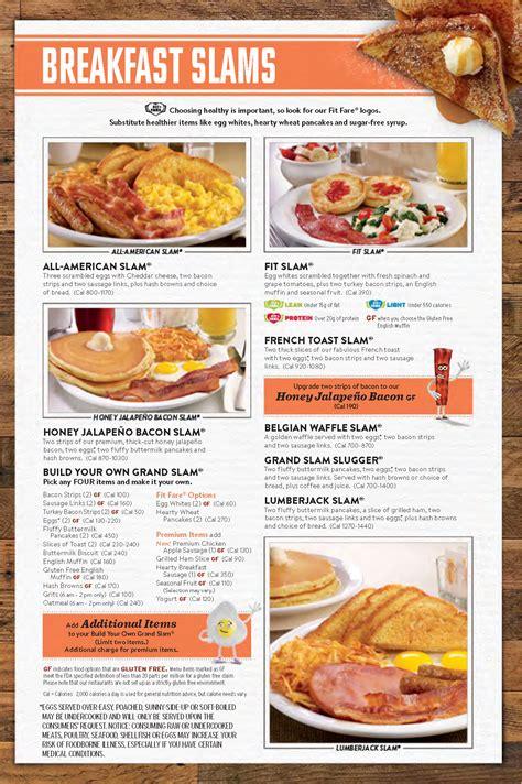 dennys menu oc restaurant guides