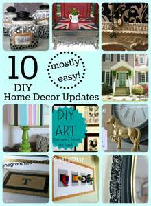 diy easy home decor 10 mostly easy home decor updates girl in the garage 174