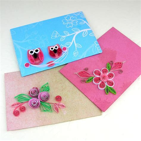 Small Envelopes For Gift Cards - paper quilling envelopes mini small gift card holder quilled