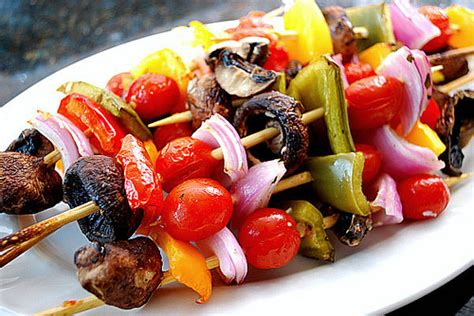 vegetables kabobs how to make vegetable kabobs in the oven