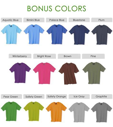 shirt colors shirt colors
