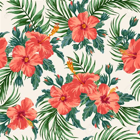 tropical pattern background free 40210498 seamless exotic pattern with tropical leaves and
