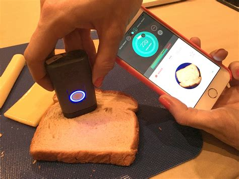 new tech ideas dietsensor gadget scans food for calories popsugar tech