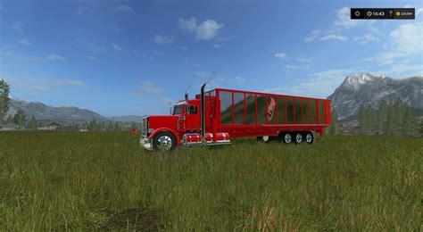 bed ls tipper bed for my peterbilt 388 custom v1 ls 17 farming