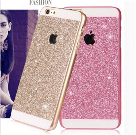 Silicon Casing Hardcase Gliter Iphone 6 Iphone 6 Plus luxury cell phone cover for iphone 6 6s plus ultra slim silicone skin bling