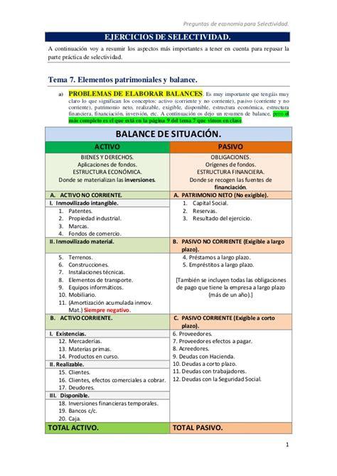 economa 2 bachillerato 8467587121 ejercicios selectividad resumen f 243 rmulas y para problemas selectivid