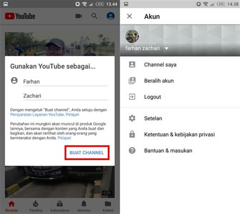 cara membuat youtube offline cara membuat akun youtube di android dengan mudah