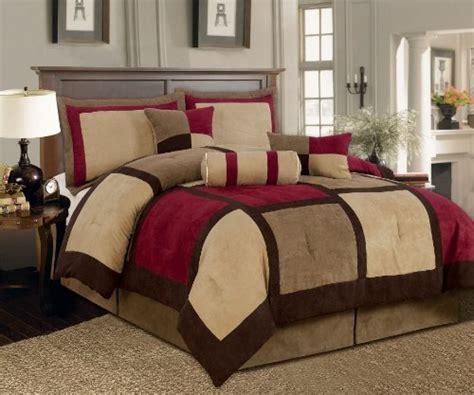7 piece comforter set cheap find cheap price textiles plus 7 piece micro suede