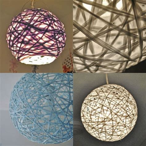 How To Make L Shades Using Paper - woven string pendant l 183 how to make a l lshade