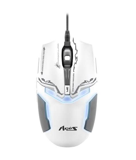 Dragonwar Ele G10 Ares Blue Sensor Gaming Mouse Black buy war aries ele g10 blue sensor gaming mouse white at best price in india