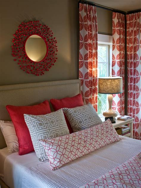 brilliant red and white bedroom curtains decor with cool red black adorn your interior with white patterned curtains homesfeed