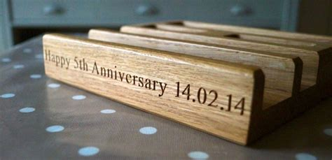 5th anniversary gifts for him makemesomethingspecial