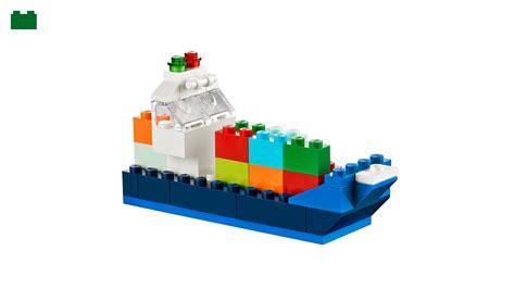 lego boat cargo cargo ship lego 174 classic lego us
