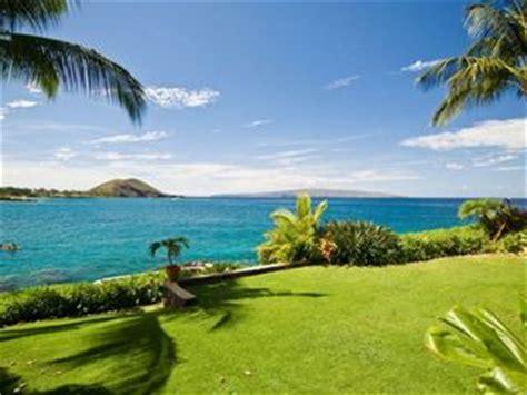 backyard ocean makena oceanfront 4 bedroom home spectacular