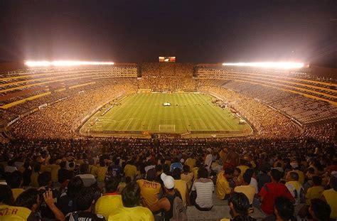el estadio monumental isidro romero carbo de guayaquil photos du stade de guayaquil monumental isidro romero carbo