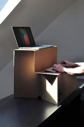 sit stand desk options this 25 cardboard sit stand desk means you no longer have