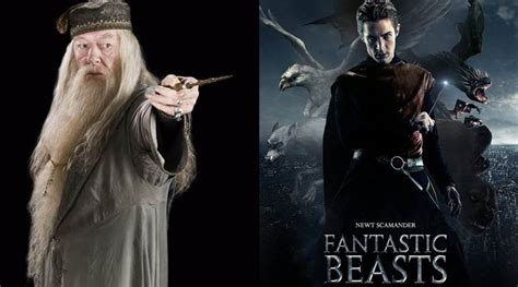 fantastic beast dumbledore from harry potter to appear in fantastic beasts