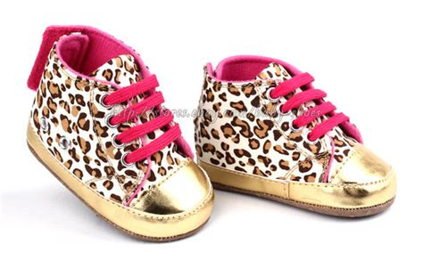 gold crib shoes baby leopard gold crib shoes walking sneaker size 1 2