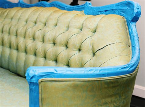 painting couch fabric how to paint fabric furniture suitepotato