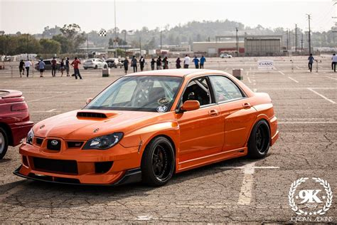 orange subaru impreza custom parts wrx custom parts