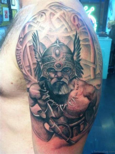 viking shoulder tattoo 90 viking shoulder tattoos