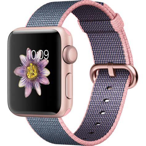 apple watch light blue apple watch series 2 38mm smartwatch mnp02ll a b h photo video