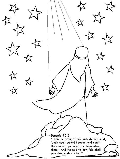 bible coloring pages abraham and sarah abraham coloring pages we colored abraham and glued him