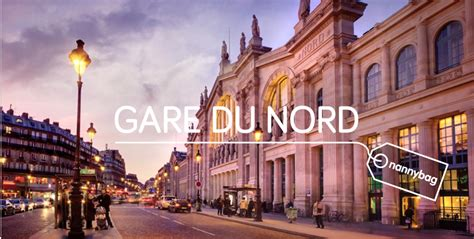 Luggage Storage Paris Gare du Nord from €1 per hour | Blog ...