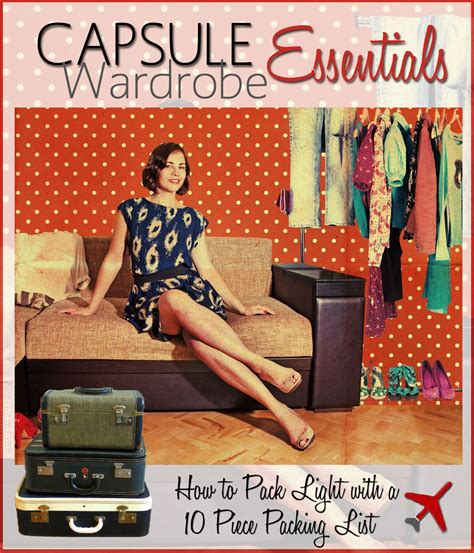 Travel Wardrobe Essentials by Travel Fashion Teaches How To Pack Light With