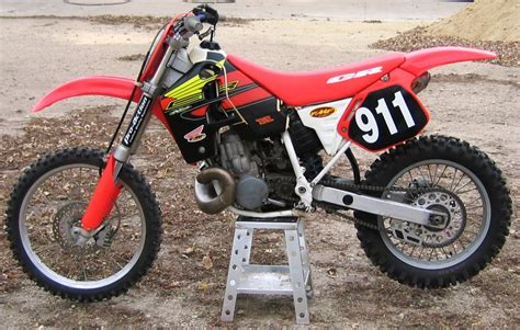hill climb racing motocross bike honda cr500 hill climb