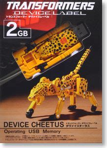 Usb Stick Wars 3420 by Transformers Device Label Device Cheetahs Operating Usb
